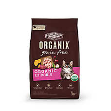Castor & Pollux® ORGANIX® Kitten Food - Natural, Grain Free, Organic