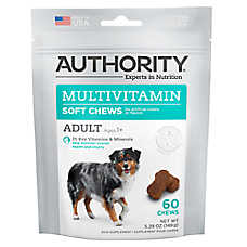 Authority® Multivitamin Adult Soft Dog Chews