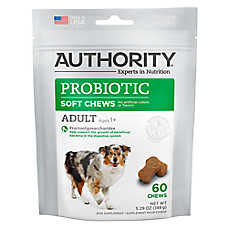 Authority® Probiotic Adult Soft Dog Chews