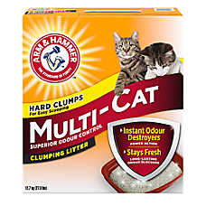 ARM & HAMMER ™ Multi-Cat Cat Litter - Clumping