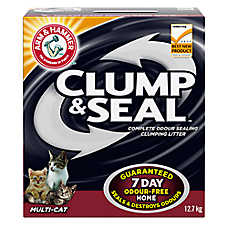 ARM & HAMMER ™Clump & Seal Cat Litter - Clumping, Multi-Cat