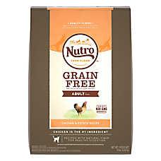 NUTRO™ Grain Free Adult Cat Food - Natural, Grain Free, Chicken & Sweet Potato