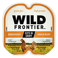 Wild Frontier ™ Cuts in Cravy Twin Pack Wet Cat Food - Grain Free, High Protein