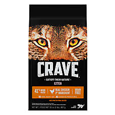 Crave Kitten Cat Food - Grain Free, High Protein, Chicken