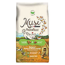 Muse® MasterPieces Adult Cat Food - Natural, Grain Free, Turkey & Chicken