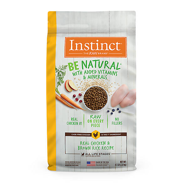Natures Variety Instinct Be Natural Trade Raw Dog Food