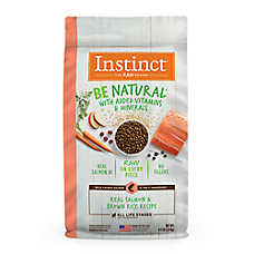Nature's Variety® Instinct® Be Natural ™ Dog Food - Natural, Raw, Salmon & Brown Rice