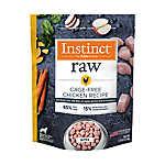 Nature's Variety® Instinct® Frozen Raw Dog Food - Natural, Grain Free, Chicken