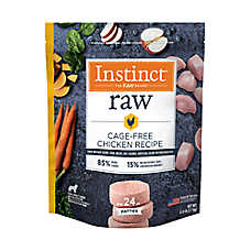 Nature's Variety® Instinct® Frozen Raw Patties Dog Food - Natural, Grain Free