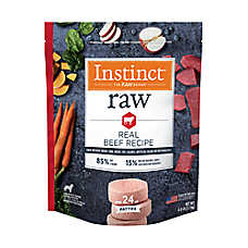 Nature's Variety® Instinct® Frozen Raw Patties Dog Food - Natural, Grain Free, Beef