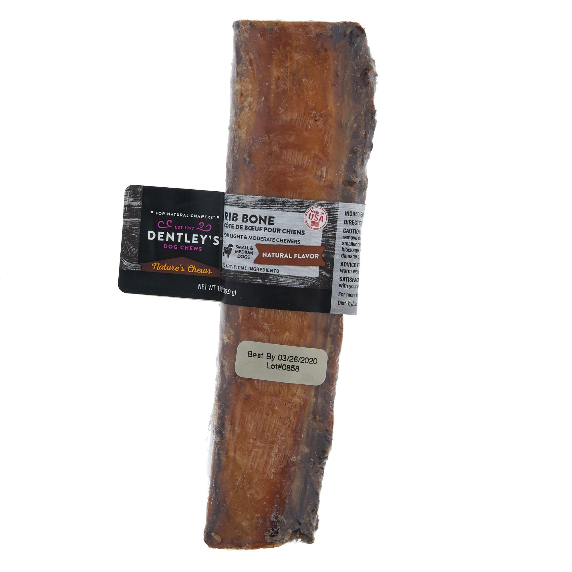 Chews Rib Bone Dog Treat