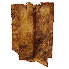 Dentley's® Nautre's Chews Beef Jerky Skin Dog Treats - Smoke