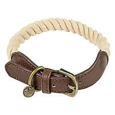Beaver Canoe Rope Dog Collar