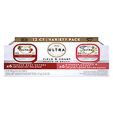 Nutro Ultra™ Field & Coast Filets in Gravy Variety Pack Wet Food - Grain Free, Beef & Salmon