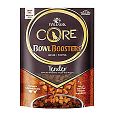 Wellness® CORE® Bowl Booster Tender Dog Food Top - Grain Free, Natural