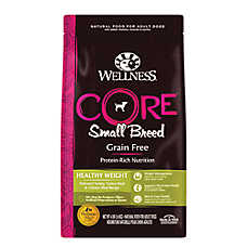 Wellness® CORE® Healthy Weight Small Breed Dog Food - Grain Free