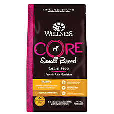 Wellness(R) CORE(R) Small Breed Puppy Food - Natural, Grain Free, Turkey & Salmon
