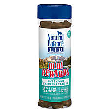 Natural Balance Mini Rewards Dog Treat - Soft & Chewy, Chicken