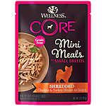 Wellness (R) CORE (R) Mini Meals Shredded Wet Dog Food - Natural, Grain Free