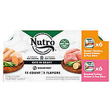 Nutro ™ Petite Eats Cuts in Cravy Variety Pack Wet Dog Food