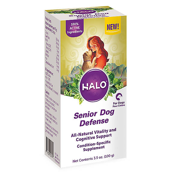 Halo Senior Dog Defense Supplement For Dogs Dog Vitamins