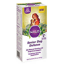 HALO® Senior Dog Defense Supplement for Dogs