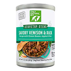 Only Natural Pet Stovetop Stews Wet Dog Food - Grain Free, Natural