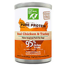 Only Natural Pet Pure Protein Paleo Inspired Pate Wet Dog Food - Grain Free