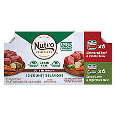Nutro ™ Petite Eats Cuts in Gravy Variety Pack Wet Dog Food