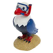 Top Fin® Snorkling Eagle Aquarium Ornament