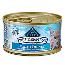 BLUE Wilderness® Denali Dinner® Adult Wet Cat Food - Natural, Grain Free