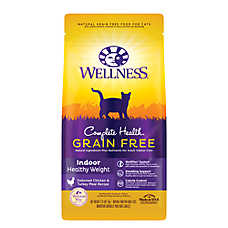 Wellness® Complete Health Weight Indoor Cat Food - Natural, Chicken, Chicken Meal & Turkey Meal