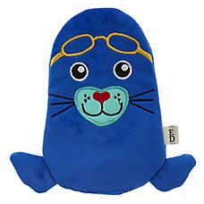 ED Ellen DeGeneres Pool Party Seal Flattie Dog Toy - Crinkle