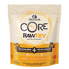 Wellness® CORE® RawRev Indoor Adult Cat Food - Natural, Grain Free, Chicken, Turkey & Chicken Meal