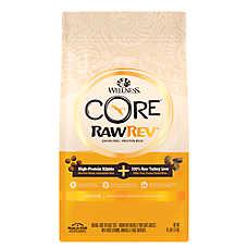 Wellness® CORE® RawRev Indoor Adult Cat Food - Natural, Grain Free, Chicken, Turkey & Chicken Meal