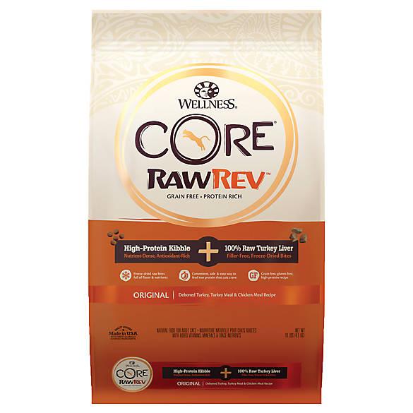 Wellness Core Raw Rev Kibble Freeze Dried Cat Food