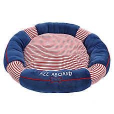 ED Ellen DeGeneres Pool Party Raft Bolster Pet Bed