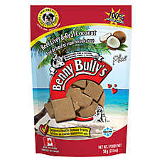 Benny Bully's Plus Dog Treat - Natural, Beef Liver & Coconut