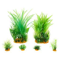 Top Fin® Box Plant Aquarium Plant Ornaments - 6 Pack