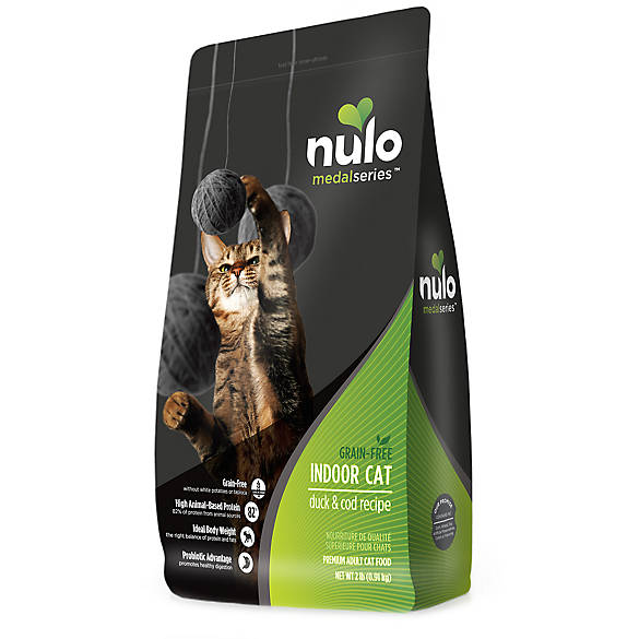Nulo Medal Series Trade Cat Food Grain Free Duck Cod Cat