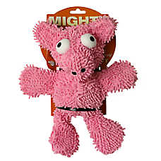 Mighty® Dog Toys Microfiber Ball Pig Dog Toy - Plush, Squeaker
