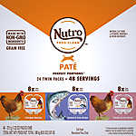 NUTRO® Perfect Portions ™ Pate Variety Pack Wet Cat Food - Grain Free