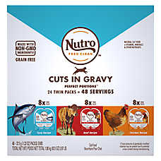 NUTRO® Perfect Portion Cuts in Gravy Variety Pack Wet Cat Food - Grain Free