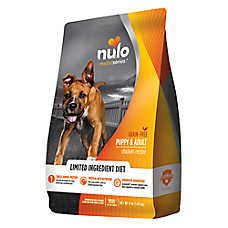 Nulo Medal Series Puppy & Adult Dog Food - Grain Free, Limited Ingredient, Chicken