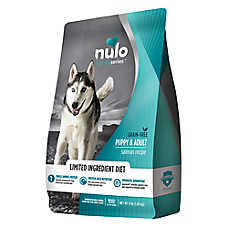 Nulo Medal Series Puppy & Adult Dog Food - Grain Free, Limited Ingredient, Salmon