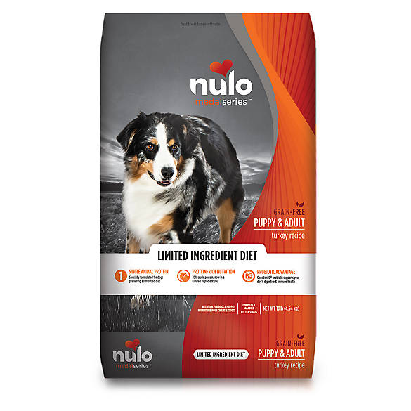 Nulo Medal Series Puppy Adult Dog Food Grain Free Limited