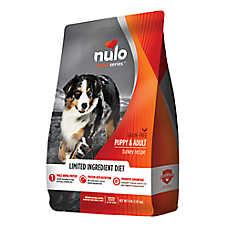 Nulo Medal Series Puppy & Adult Dog Food - Grain Free, Limited Ingredient, Turkey