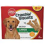 Grreat Choice® Crunchin' Biscuits Large Dog Treats