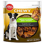 Grreat Choice® Apple & Chicken Jerky Wrap Dog Treat - Grain Free, Gluten Free