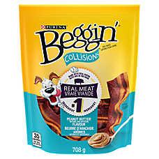 Beggin'® Collisions® Dog Treat - Peanut Butter
